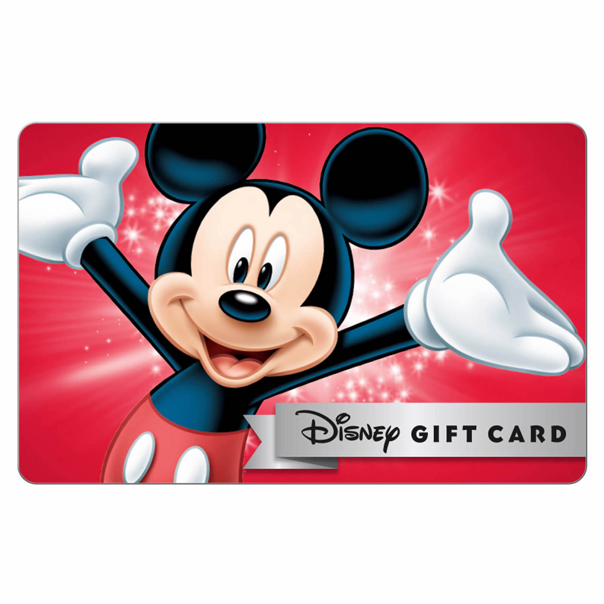 Mickey Mouse disney gift card