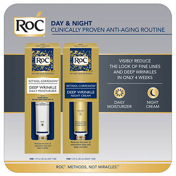 RoC Retinol Correxion Deep Wrinkle Day/Night Combo Pack