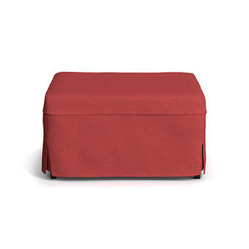 Handy Living Folding Metal Ottoman Bed - Crimson