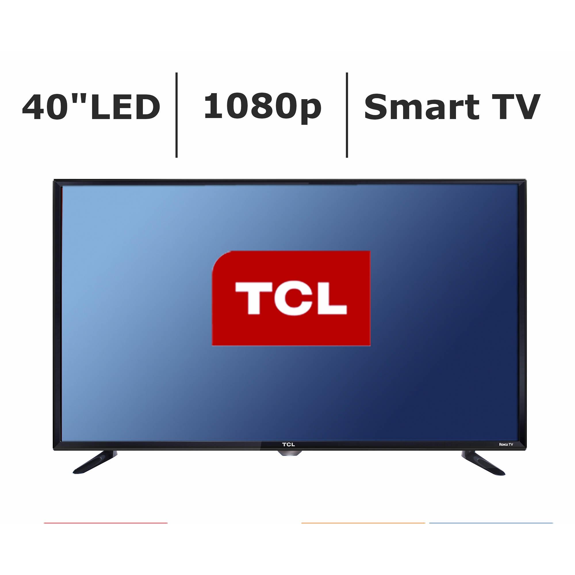 tcl 40fs3750 40 smart 1080p led tv with roku bj 39 s. Black Bedroom Furniture Sets. Home Design Ideas
