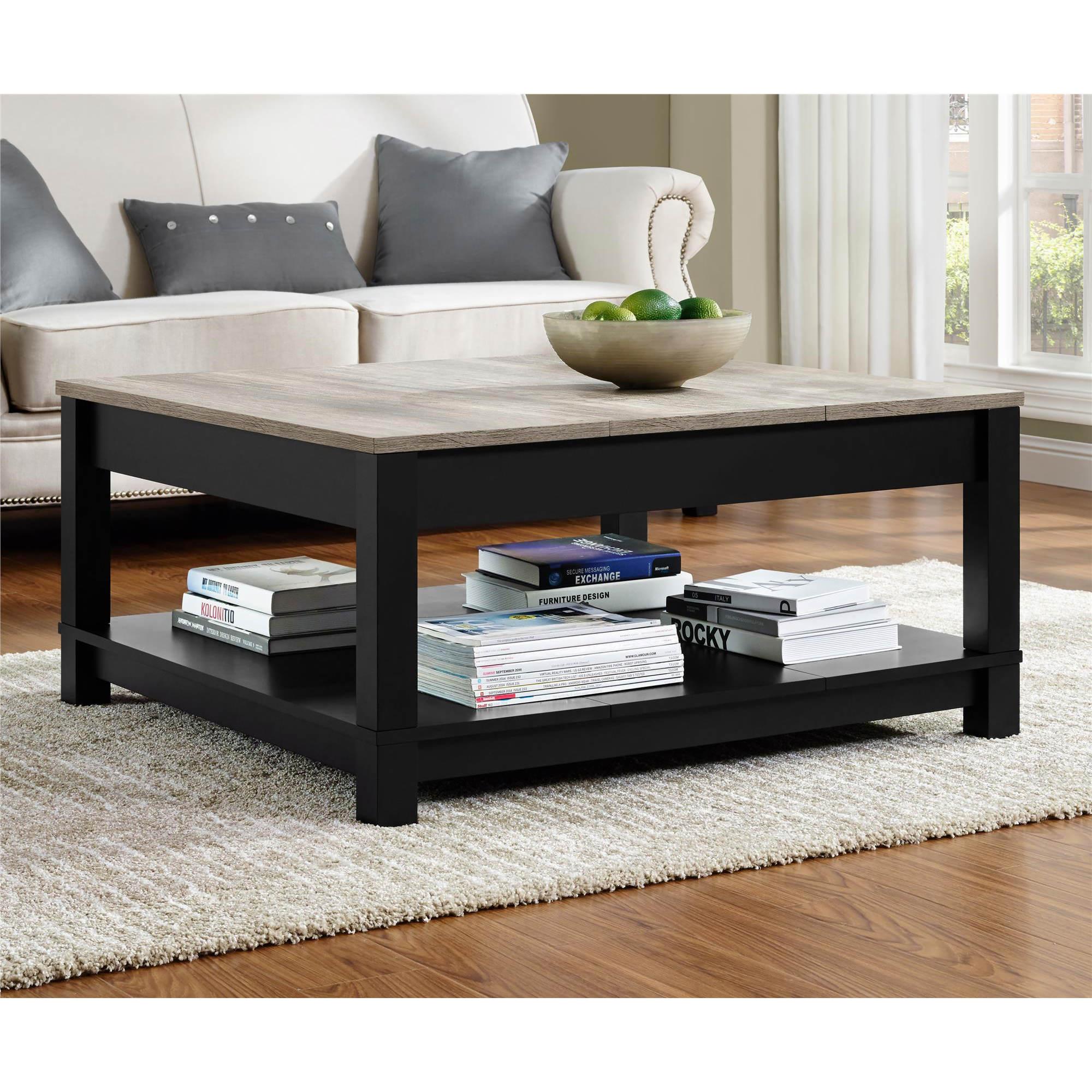 Altra Carver Coffee Table Black Sonoma Oak Bj 39 S Wholesale Club
