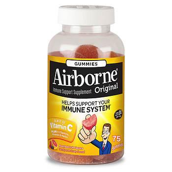 Airborne Gummies, 75 ct.