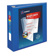 "Avery 3"" Heavy-Duty View Binder - Pacific Blue"