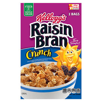 Kellogg's Raisin Bran Crunch, 56.6 oz.