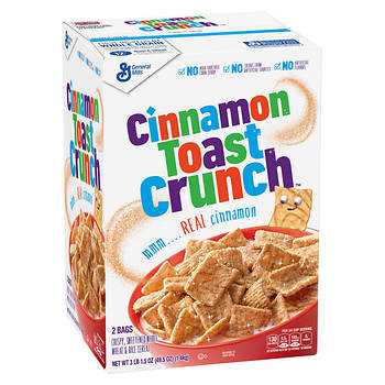 Cinnamon Toast Crunch Cereal, 49.5 oz.