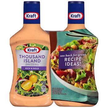 Kraft Thousand Island Dressing, 2 pk./24 fl. oz.