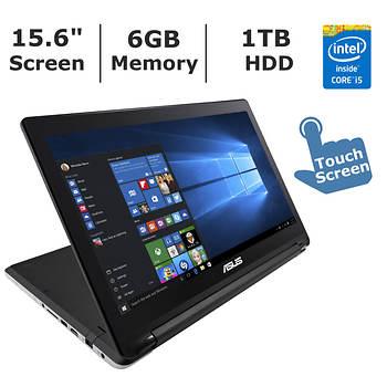 Asus Laptop, Intel Core i5, 6GB Memory, 1TB Hard Drive