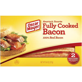 Oscar Mayer Ready to Serve Fully Cooked Bacon, 30 pk./9.6 oz.