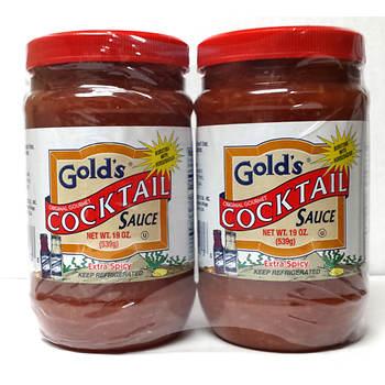 Gold's Original Gourmet Cocktail Sauce, 2 pk./19 oz.