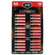 Berkley Jensen AA Alkaline Batteries, 48 ct.