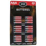 Berkley Jensen AAA Alkaline Batteries, 48 ct.