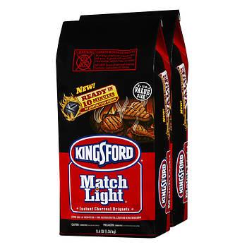 Kingsford Match Light Instant Charcoal Briquettes, 2 pk./11.6 lb.