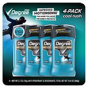 Degree Men Cool Rush Anti-Perspirant & Deodorant, 4 pk./2.7 oz.