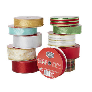 Berkley Jensen Christmas Ribbon, 50 Yards