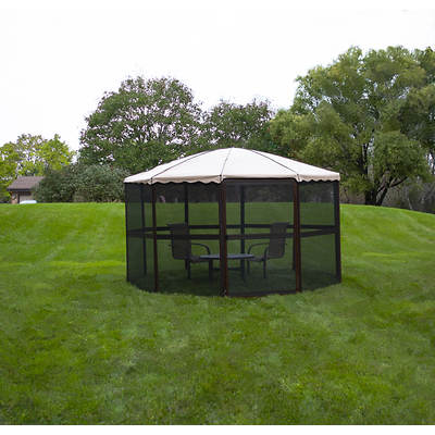 "Casita  14'9"" Complete Round Screenhouse"