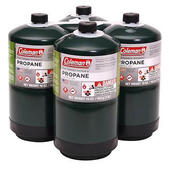 Coleman Propane Fuel Cylinders, 4 pk./16.4 oz.