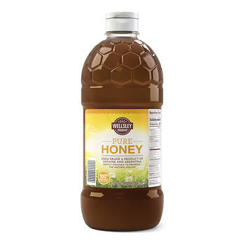 Wellsley Farms Pure Honey, 3 lbs.