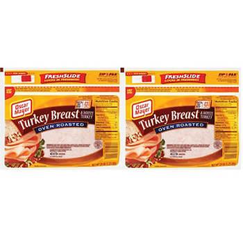 Oscar Mayer Oven Roasted Turkey Breast, 20 oz., 2 pk.