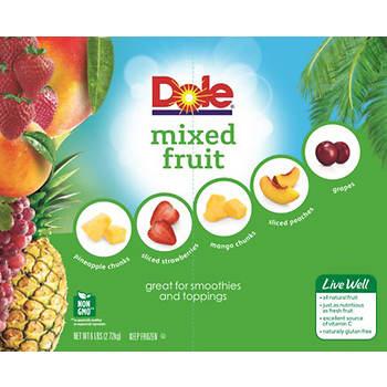 Dole Mixed Fruit, 96 oz.
