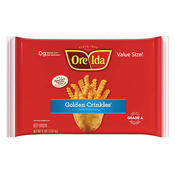 Ore-Ida Crinkle Fries, 8 lbs.