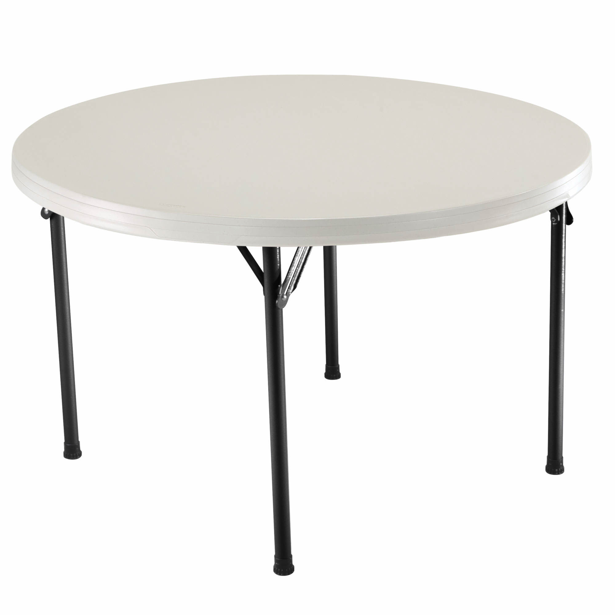 Fold In Half Round Table Folding Card Tables Bjs Wholesale Club