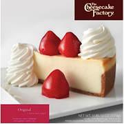 Cheesecake Factory Original Cheesecake, 64 oz.
