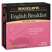 Bigelow English Breakfast Tea, 100 pk.