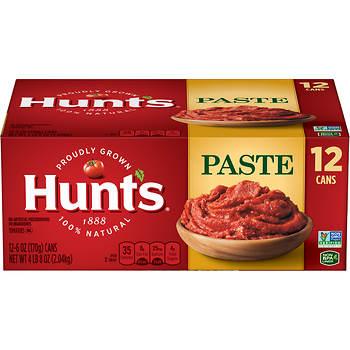Hunt's Tomato Paste, 12 pk./6 oz.