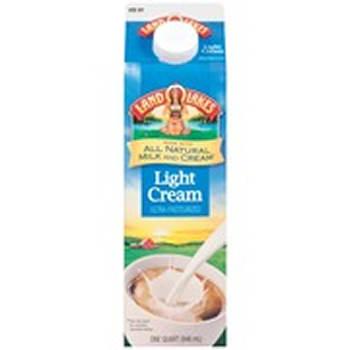 Land O'Lakes Light Cream, 32 oz.