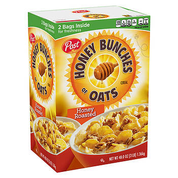 Post Honey Bunches of Oats Honey Roasted, 48 oz.