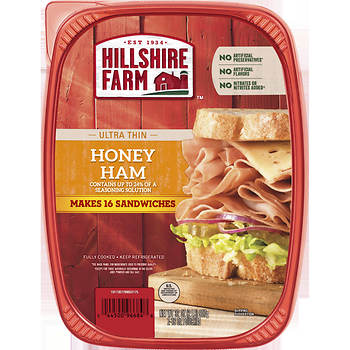 Hillshire Farm Honey Ham Ultra Thin Lunch Meat, 32 oz., 2 pk.