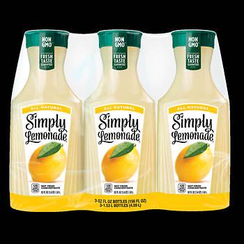 Simply Lemonade, 3 pk./59 oz.