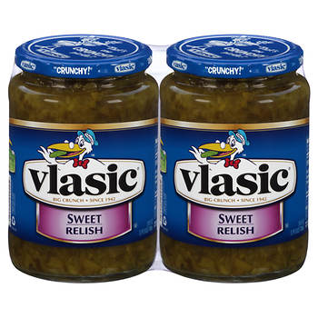 Vlasic Sweet Relish, 24 oz., 2 ct.