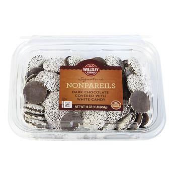 Wellsley Farms Dark Chocolate Nonpareils, 16 oz.