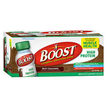 Boost High-Protein Drink, Chocolate, 24 pk./8 oz.