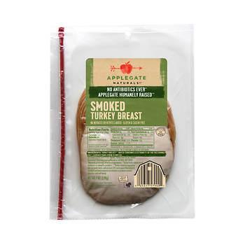 Applegate Naturals Smoked Turkey Breast, 7 oz., 2 pk.