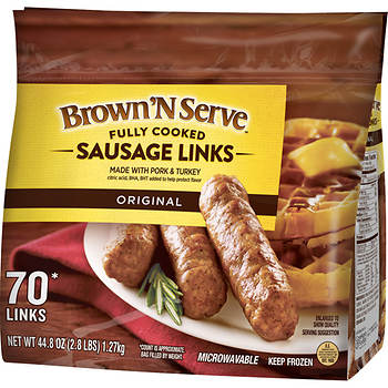 Banquet Brown 'N Serve Original Sausage Links, 4 pk./11 oz.
