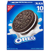 Nabisco Oreo Cookies, 10 pk./5.25 oz.