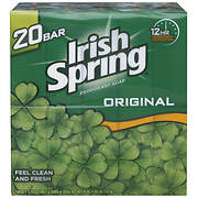 Irish Spring Original Bar Soap, 20 ct./3.75 oz.