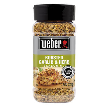 Weber Roasted Garlic & Herb Seasoning,  7.75 oz.