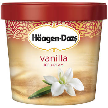 Haagen-Dazs Vanilla Ice Cream, 64 oz.