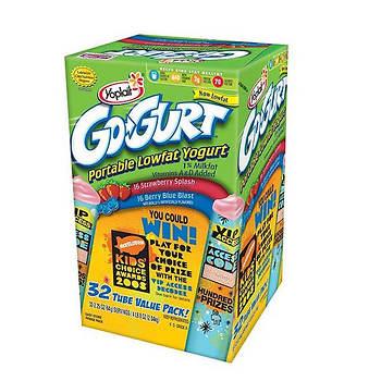Yoplait Go-Gurt Yogurt, 32 ct.