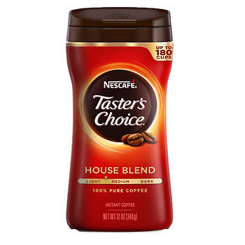 Nescafe Taster's Choice Regular Instant Coffee, 12 oz.