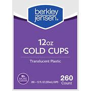 Berkley Jensen 12-Oz. Translucent Cups, 260 ct.