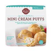 Wellsley Farms Mini Cream Puffs, 70 ct.