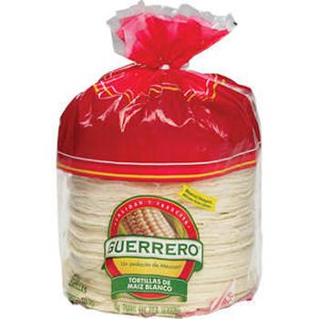 Guerrero Corn De Maiz Blanco Tortillas, 66 oz.