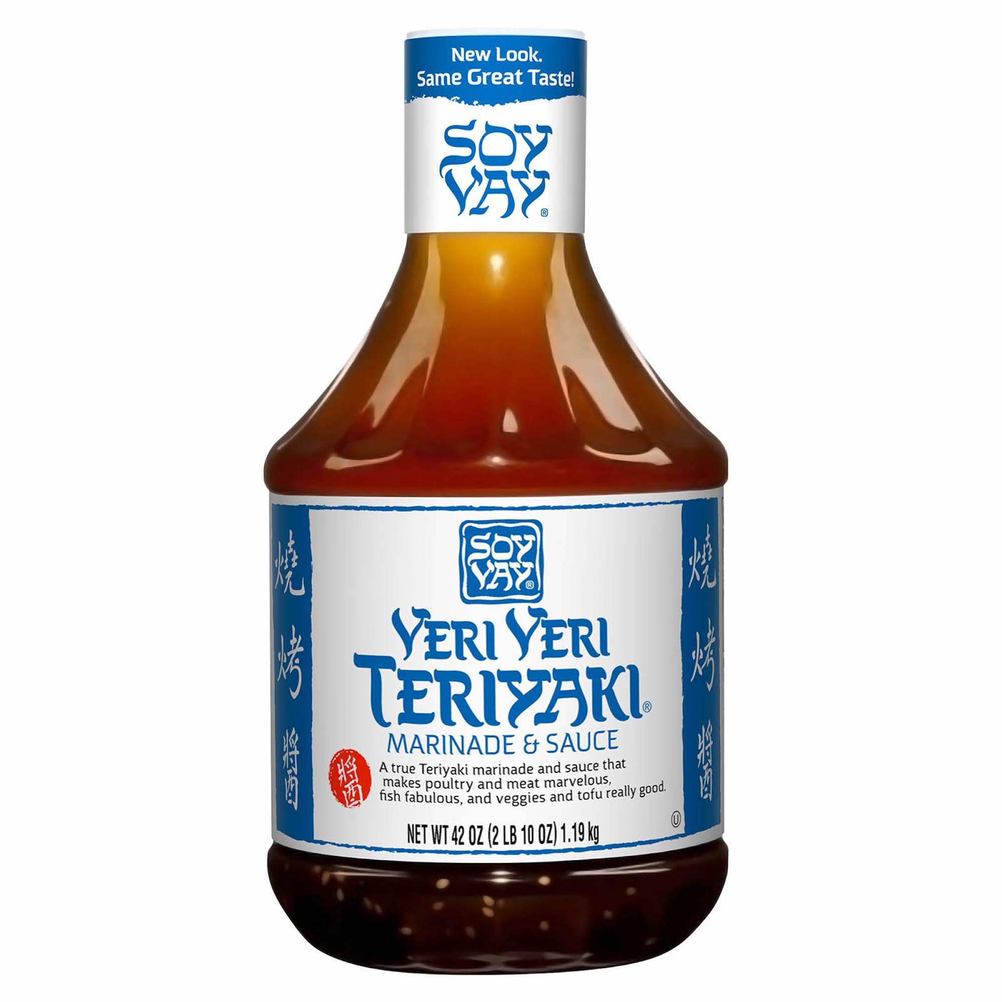 Soy Vay Veri Veri Teriyaki Sauce, 42 oz. - BJ's Wholesale Club