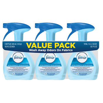 Febreze Fabric Refresher Extra Strength Pack, 3 pk./500mL