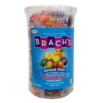 Brach's Sugar Free Mixed Fruit Hard Candy,