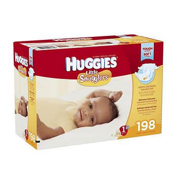 Huggies Little Snugglers, 198 ct.